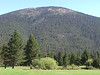 Black Butte in summer from GCC