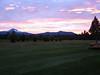 cache mtn sunset