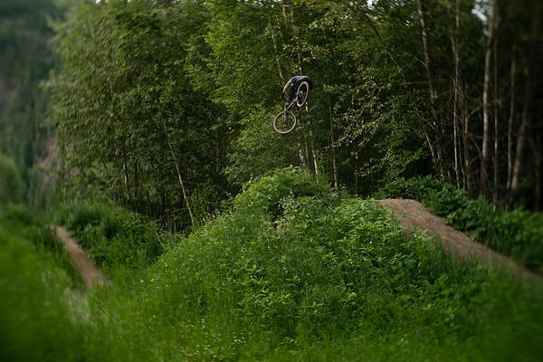 Corbin Selfe Sicamous Dirt Jumps