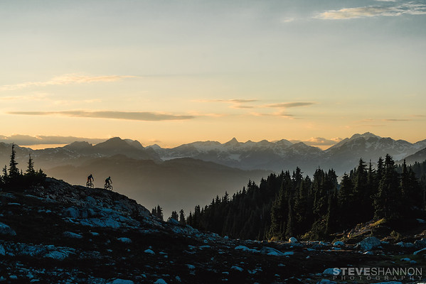 Riders: Cory Brunelle & Dom Wrapson<br /> Location: Mt Sproatt, Whistler, BC
