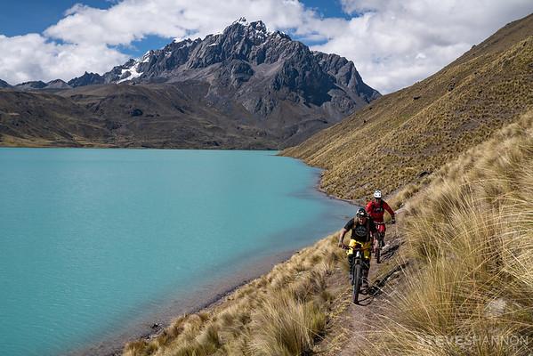 Athletes: Jordie Lunn & Brett Tippie, Location: Peru