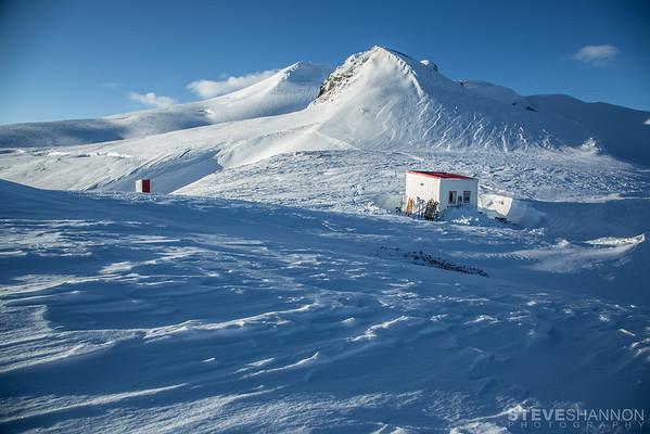 Lyell Hut, Icefall Lodge, Canadian Rockies