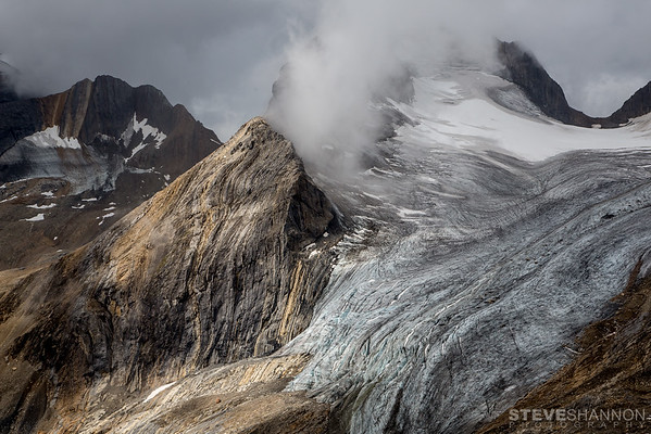 La Clytte Glacier, Rocky Mountains, BC
