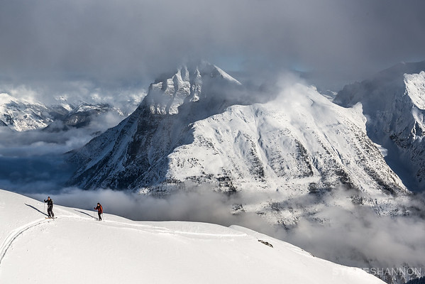 Models: Adrian Jeffery & Daniel Herrick<br /> Location: Rogers Pass, Selkirk Mountains, BC