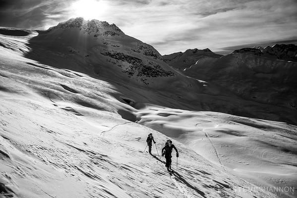 Athletes: Par Johansson and Sten-Andreas Gundvag<br /> Location: Rogers Pass, BC