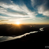 Sunset over the Monashee Mountains & Columbia River.<br /> Location: Revelstoke, BC