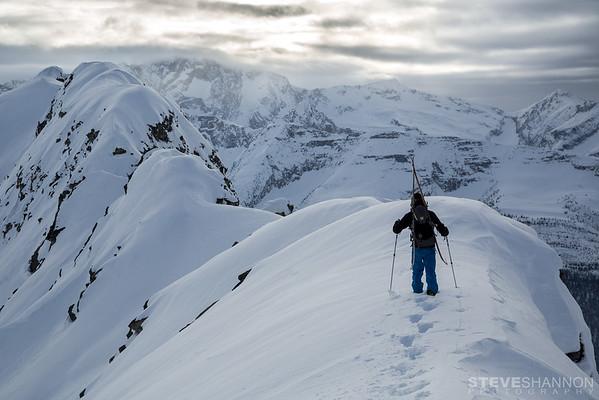 Athlete: Par Johansson<br /> Location: Rogers Pass, BC