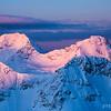 Bush Peak and Icefall Peak<br /> Location: Icefall Lodge, BC