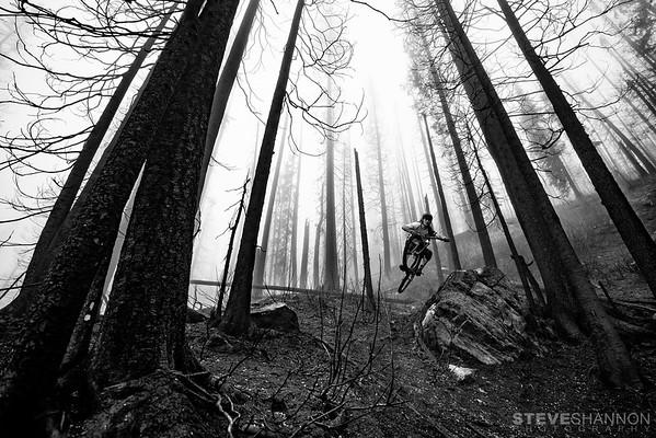 Rider: Evan Wall<br /> Location: Monashee Mountains, BC