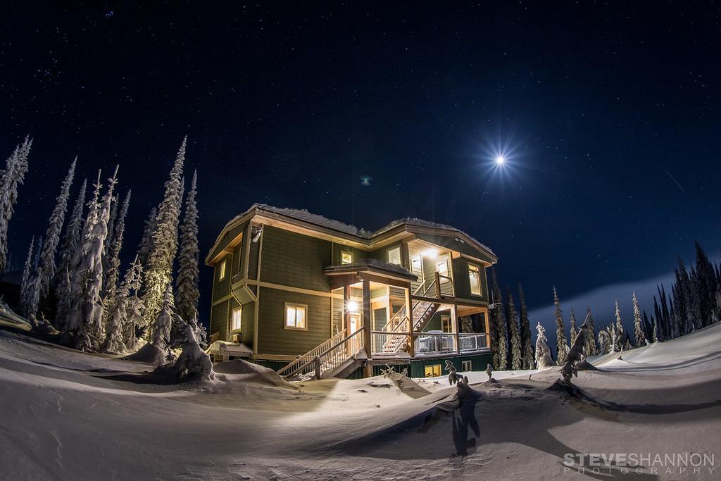Location: Sol Mountain Lodge, Monashee Mountains, BC