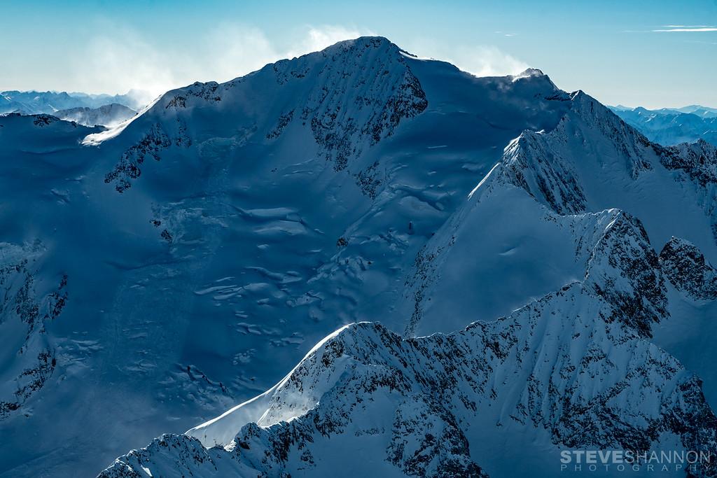 Mt Cooper and the Spokane Glacier, Goat Range, BC
