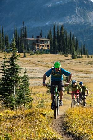 Models: Matt Yaki, Sahanna Browning & Aaron Cooperman<br /> Location: Sol Mountain Lodge, BC