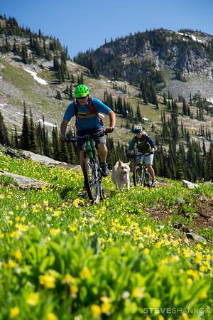 Athlete: Matt Yaki, Wiley, Sahanna Browning<br /> Location: Sol Mountain Lodge, BC