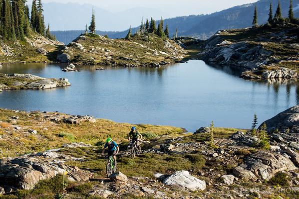 Models: Matt Yaki & Aaron Cooperman<br /> Location: Sol Mountain Lodge, BC