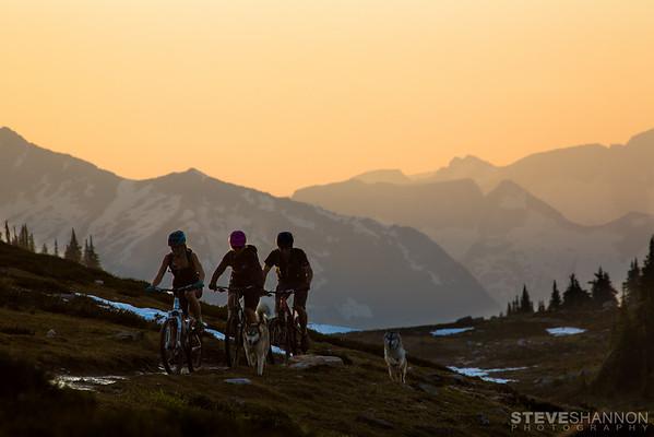 Athletes: Jayme Richardson, Kathryn Whiteside, Alex Cooper<br /> Location: Frisby Ridge, Revelstoke, BC