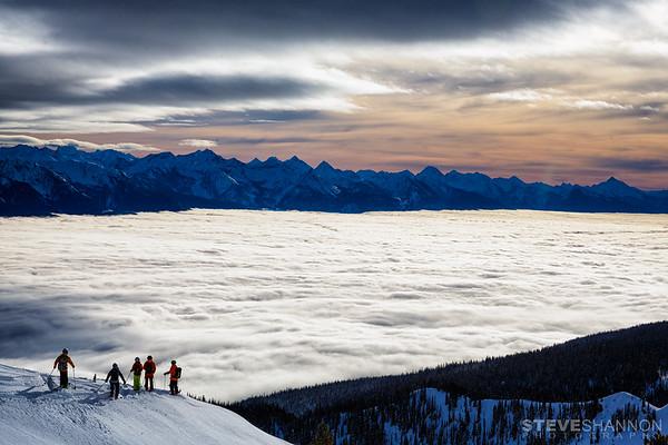 Location: Selkirk Wilderness Skiing