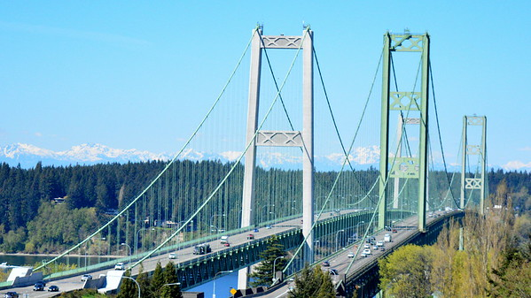 The Narrows Bridge, Tacoma, Washington State
