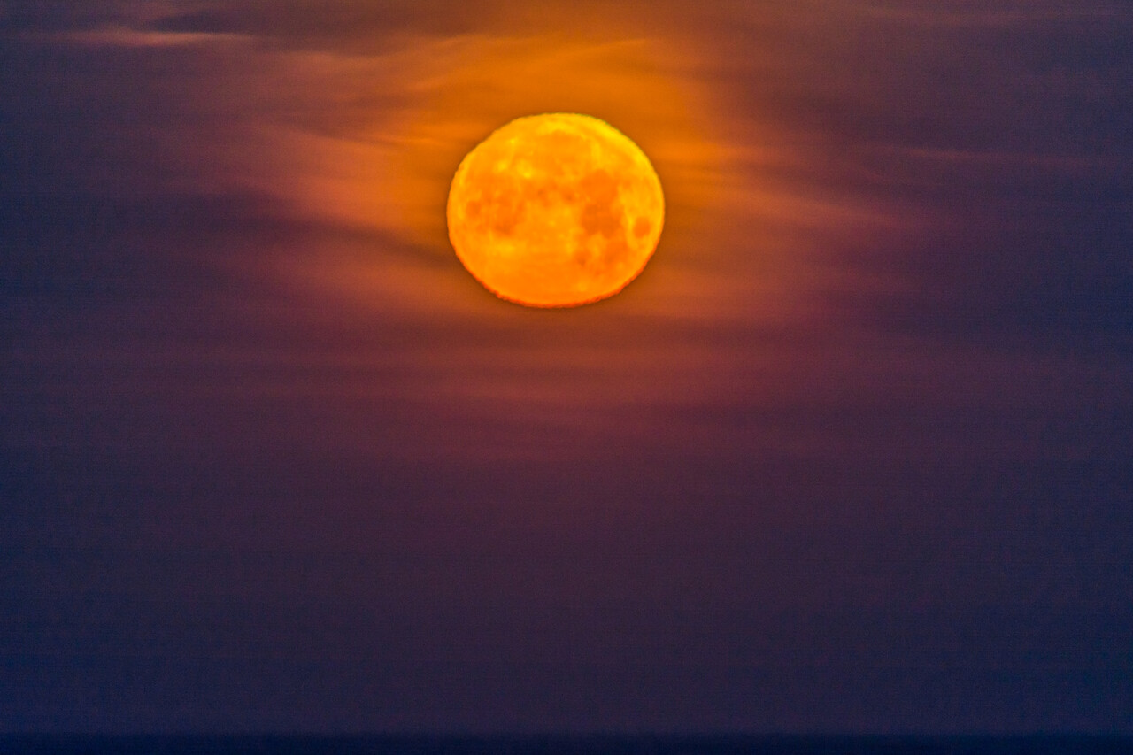 Orange Moon