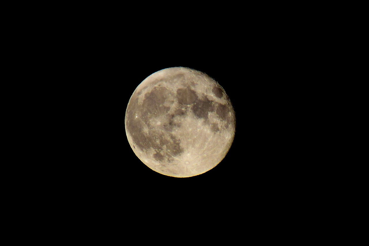 Late September Super Moon