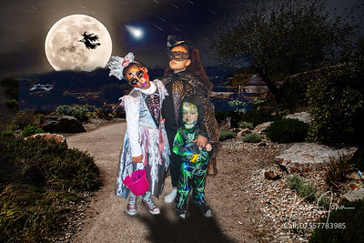 Kids in Moon scene
