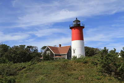 Recently refurbished and painted Nauset Light.