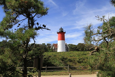 Nauset Lighthouse on a mid September afternoon.