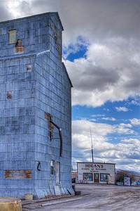 Montana Big Box Store Hall, Montana