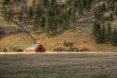 Ryan Creek Barn Clinton, Montana