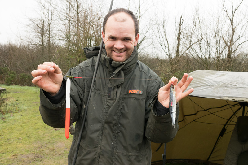 Andrew Moores with his advised dead bait rig