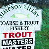main fishery sign for Simpson Valley