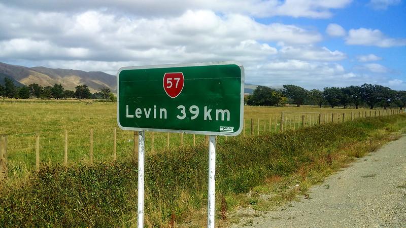 Day Three Levin 39km