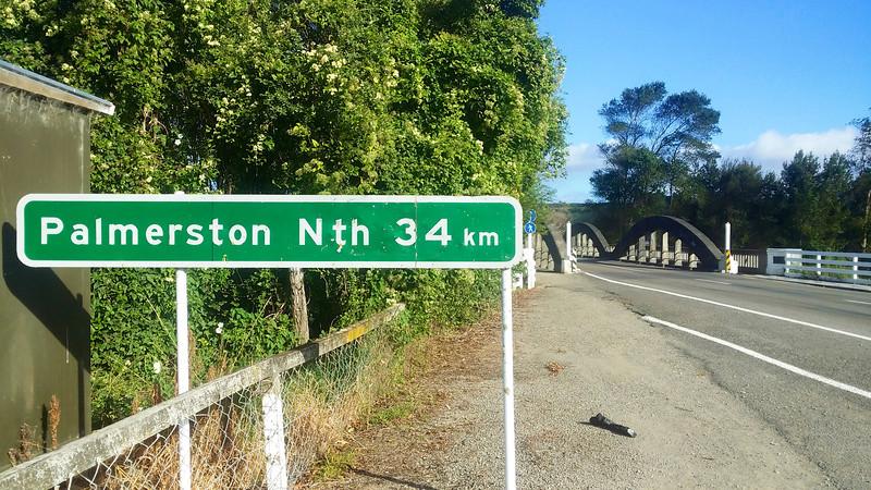 Day Three Leaving Pahiatua bound for Levin via Palmerston North