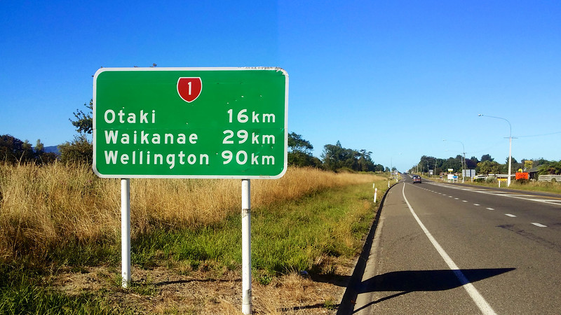 Day Four Levin to Wellington 90km