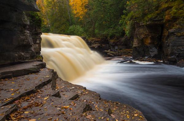 Autumn at Canyon Falls