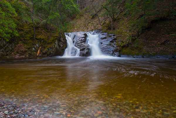 Slate River Falls with Plunge Pool
