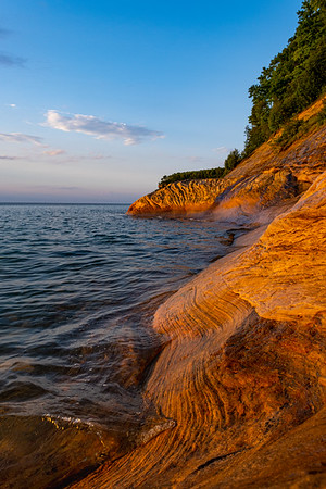 Follow the Curves - Pictured Rocks National Lakeshore