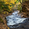Above Sable Falls in Autumn