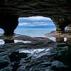 Lake Superior Sea Cave
