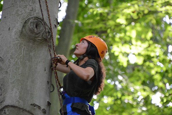 2015-09-06 Intl Student Orientation - Day 3 - Ropes Course