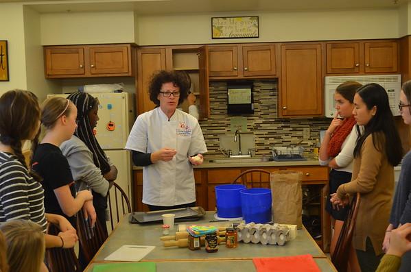 2015-11-19  Français 3 Atelier de cuisine avec Chef Sylvie