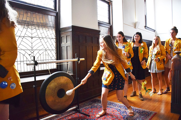 Alumnae Induction & Gong Ringing 2018