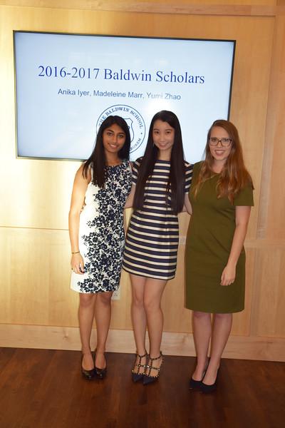 Baldwin Scholars Evening 2017