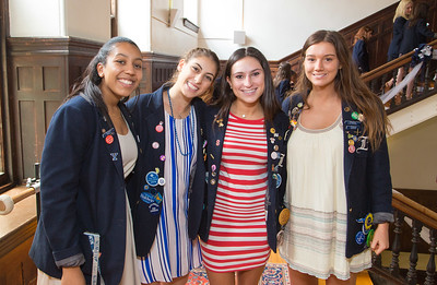 JUNE 7, 2017 - BRYN MAWR, PA -- Baldwin School Senior Luncheon and Alumnae Induction Ceremony Wednesday, June 7, 2017.  PHOTOS © 2017 Jay Gorodetzer -- Jay Gorodetzer Photography, www.JayGorodetzer.com