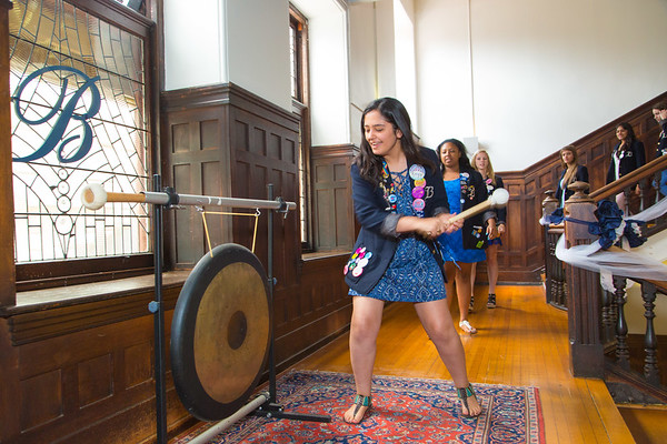 Gong Ringing and Alumnae Induction Ceremony 2017