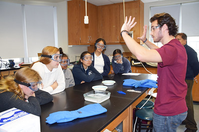 Honors Physics Hosts University of the Sciences Physics Department
