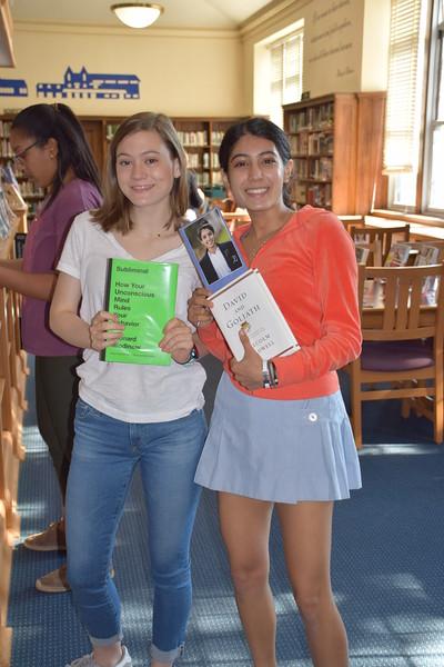 Senior Treats in the Library