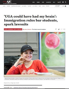 UGA Could have had my brain