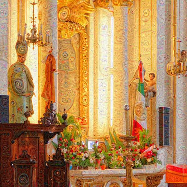 Guadalajara Cathedral - Upscaled Detail