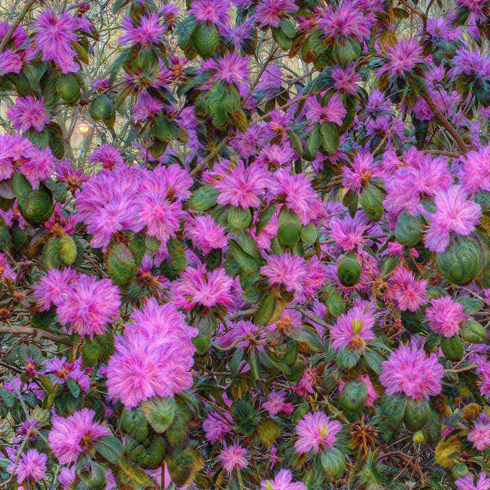 Azalea Walk - Upscaled Detail