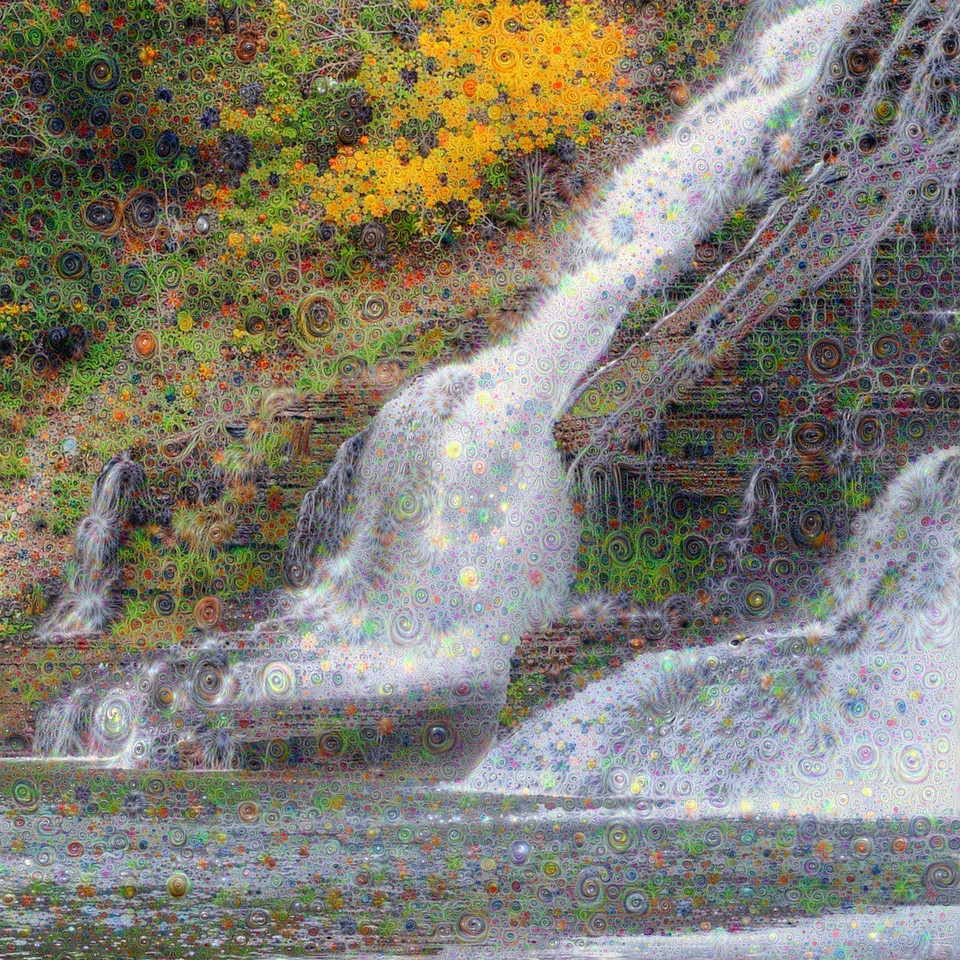 Ithaca Falls - Upscaled Detail